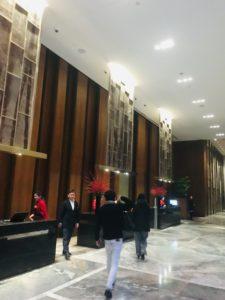 長春ホテル受付