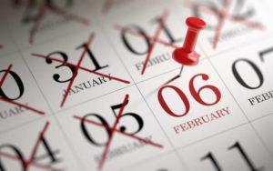 ゾロ目の日のカレンダー