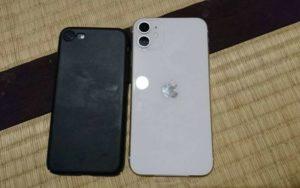 iphone11とihone7