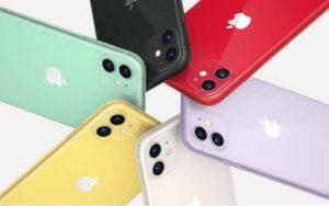 iphone11のカラー